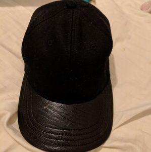 c013845815e ... S M. rag   bone Accessories - Rag Bone NWOT Leather Wool Baseball Cap  ...